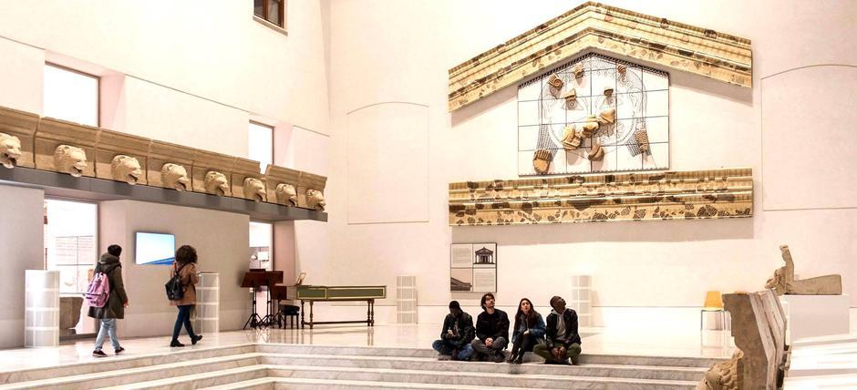 Visita guidata alla nuova Agorà e alla collezione del Museo