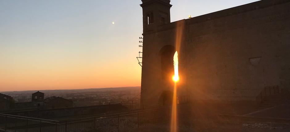 Santuario di Ercole Vincitore: visite al tramonto