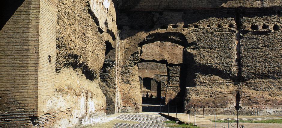 Terme di caracalla roma aree archeologiche biglietteria orari - Bagni di tivoli roma ...
