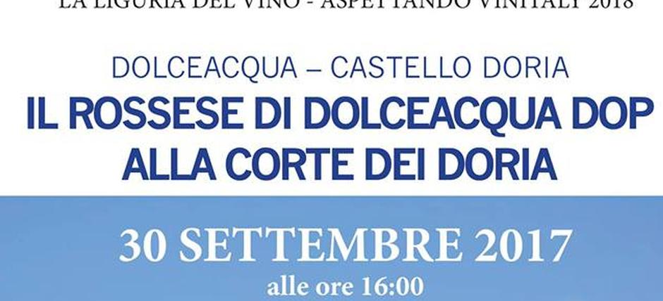 Il Rossese di Dolceacqua alla corte dei Doria [Italian]
