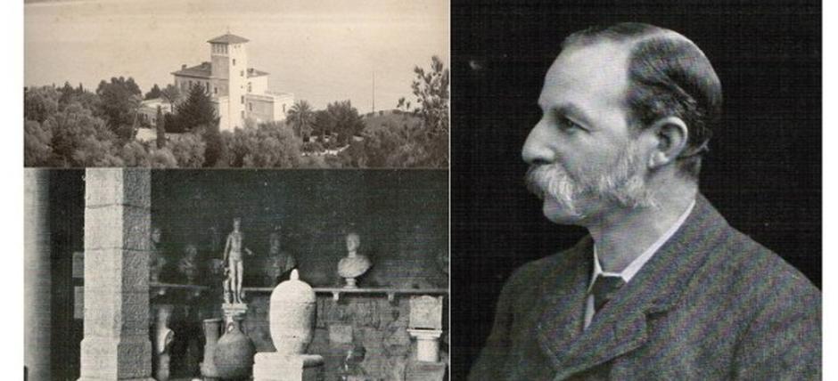 Thomas Hanbury, patron of archeology intemelia