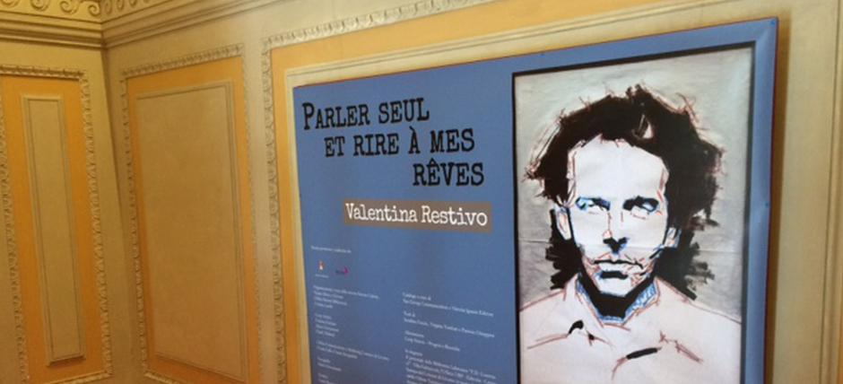 Exhibition Parler seul et rire a reves by Valentina Restivo