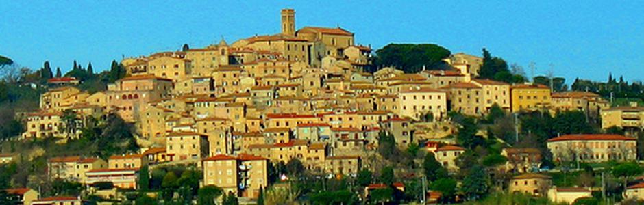 Medieval landscapes in Val di Cecina