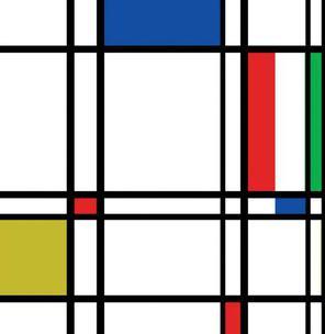 Mondrian e le linee geomentriche