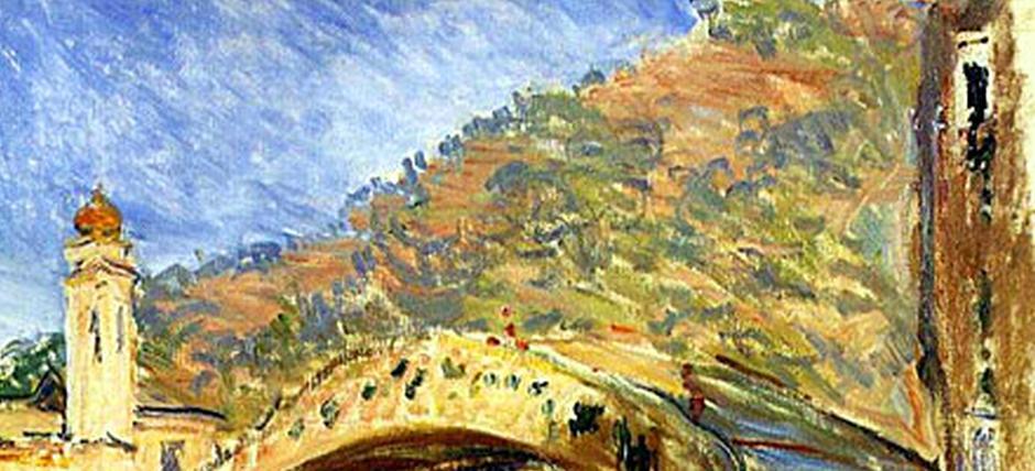 Dolceacqua, visita guidata sulle tracce di Monet [Italian]