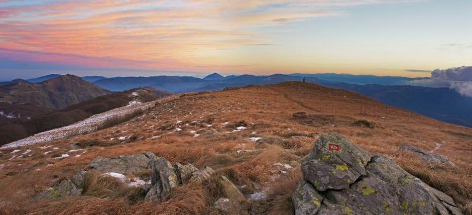 Trekking fotografico serale, a caccia dei tramonti invernali