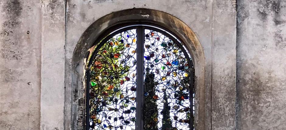 Porta dell'orto di Santa Croce in Gerusalemme