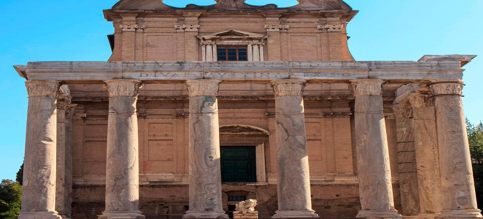 Tempio di Antonino e Faustina / Chiesa di S. Lorenzo in Miranda